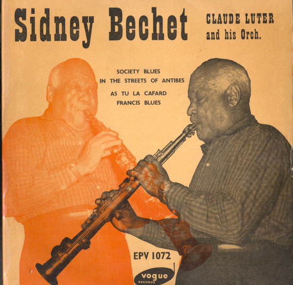 Sidney Bechet – 1950 Society Blues (Claude Luther and his orch)