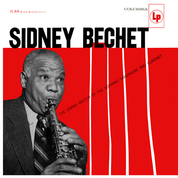 SidneyBechet – 1956 the grand master of the soprano saxophone and clarinet